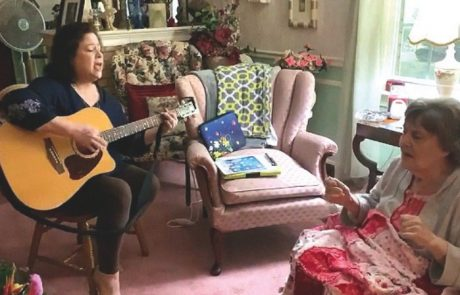 More Than a Melody:  Music Therapy Brings Out the Best in Patients, Caregivers