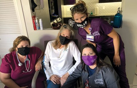 Hospice Patient Skydives Once More, Thanks to VITAS and Virtual Reality