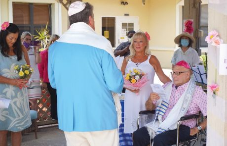 "Lifelong Friends Say ""I Do"" at a Hospice Wedding"